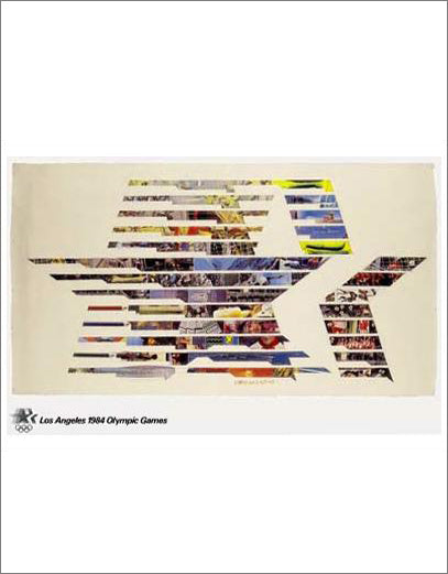 Los Angeles 1984 Summer Olympic Games Official Poster Reprint - Olympic Museum