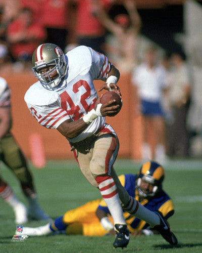 "Ronnie Lott ""Classic Attack"" (c.1988) San Francisco 49ers Premium Poster Print - Photofile Inc."