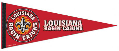 Louisiana-Lafayette Ragin' Cajuns Official NCAA Sports Team Logo Premium Felt Pennant - Wincraft Inc.