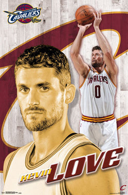 "Kevin Love ""Superstar"" Cleveland Cavaliers Official NBA Poster - Trends International"
