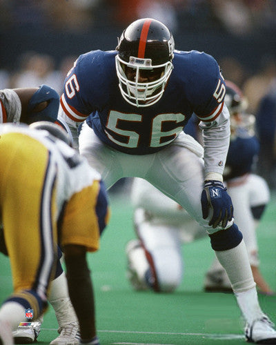 "Lawrence Taylor ""Intensity"" (c.1988) New York Giants Premium Poster Print - Photofile Inc."