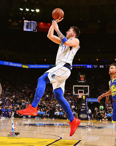 "Luka Doncic ""Blew By Steph"" Dallas Mavericks Premium NBA Poster Print - Photofile 16x20"