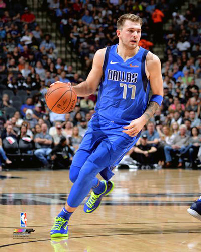 "Luka Doncic ""Drive"" Dallas Mavericks Premium NBA Poster Print - Photofile 16x20"