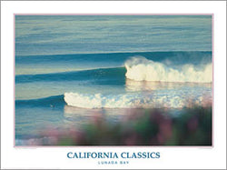 "Surfing ""Lunada Bay"" California Classics Poster Print - Creation Captured"