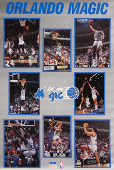 Orlando Magic Inaugural Season (1989-90) - Starline Inc.