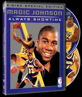 "DVD SET: ""Magic Johnson: Always Showtime"" 2-Disc Set"