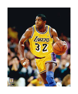 "Magic Johnson ""Work of Art"" (c.1990) Giclee-on-Canvas - Photofile"