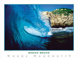 "Surfing ""Magico Mexico"" Poster Print - Creation Captured"