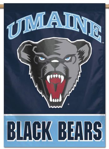 University of Maine Black Bears Official NCAA Premium 28x40 Wall Banner - Wincraft Inc.