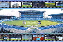 "Maine Road ""Home of City 1923-2003"" Manchester City FC Poster - GB 2005"