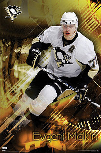 "Evgeni Malkin ""Superstar"" Pittsburgh Penguins Poster - Costacos 2010"