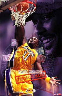"Karl Malone ""Forward Mail"" - Starline 2003"