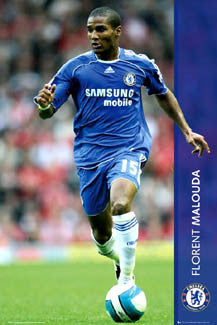 "Florent Malouda ""Action"" - GB Posters 2007"