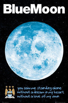 "Manchester City FC ""Blue Moon"" - GB Eye Inc."