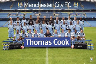 Manchester City FC Official Team Portrait 2006/07
