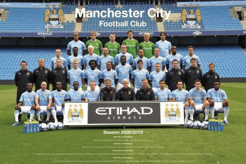 Manchester City FC Official Team Portrait 2009/10 - GB Eye