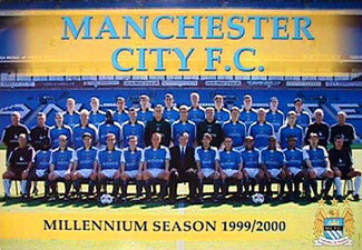 "Manchester City ""Millennium Season"" - UK 2000"
