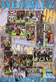 "Manchester City ""Wembley Victory 1999"" - U.K. 1999"