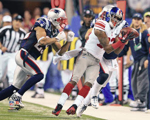 "Mario Manningham ""The Catch"" (Super Bowl XLVI) Premium Poster Print - Photofile 16x20"