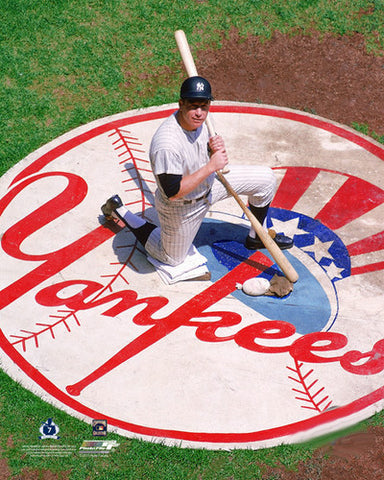 "Mickey Mantle ""Yankee Pride"" (c.1965) New York Yankees Premium Poster Print - Photofile Inc."