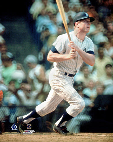 "Mickey Mantle ""Classic Stroke"" New York Yankees Premium Poster Print - Photofile Inc."