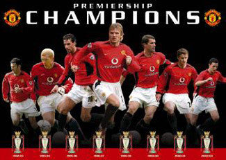"Manchester United ""Eight Trophies"" - GB Posters 2003"