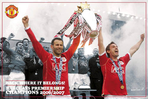 "Manchester United ""Captains' Celebration"" 2006/2007 - GB"