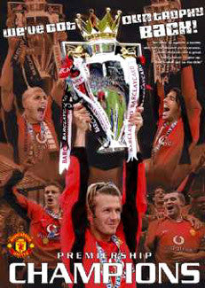 "Manchester United ""Champions 2003"" - GB Posters"
