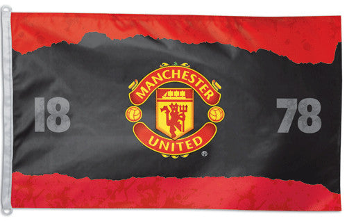 "Manchester United FC EPL Soccer Team Official ""1878"" 3' x 5' Banner Flag - Wincraft"
