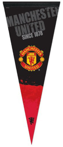 "Manchester United FC EPL Soccer ""Since 1878"" Premium Felt Pennant - Wincraft"