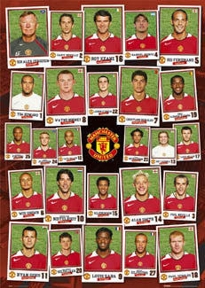 "Manchester United ""Snapshots 2004/05"" - GB Posters"