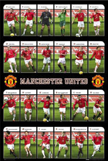 "Manchester United ""Super 24"" (2005/06) - GB Posters"