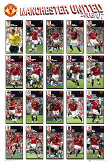 "Manchester United ""Super 20"" (2006/07) - GB Posters"