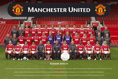 Manchester United Official Team Portrait 2010/11 - GB Eye