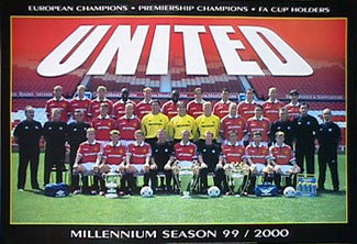 "Manchester United ""Millennium Season"" - UK 1999"