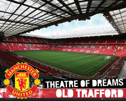 "Manchester United ""Old Trafford, Field of Dreams"" Stadium Interior Poster - GB Eye (UK)"
