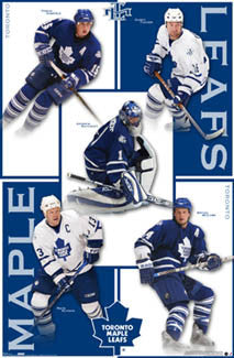 "Toronto Maple Leafs ""Superstars 2007"" Poster (Sundin, Tucker, Kaberle, +) - Costacos Sports"