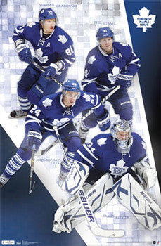 "Toronto Maple Leafs ""Four Stars"" Poster - Costacos 2011"