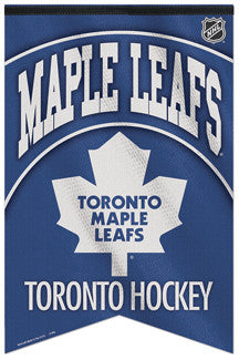 Toronto Maple Leafs NHL Hockey Premium Felt Banner - Wincraft Inc.