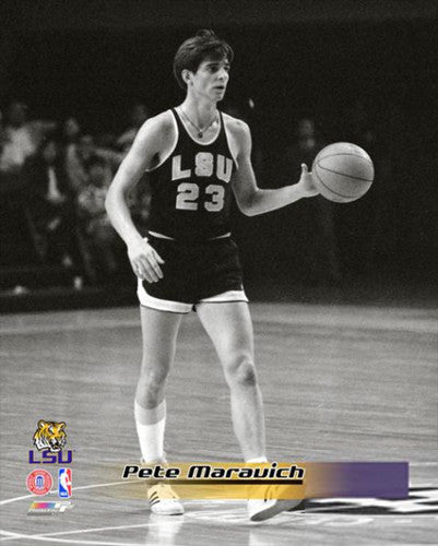 "Pete Maravich ""College Classic"" (c.1969) LSU Tigers Basketball Premium Poster Print - Photofile Inc."
