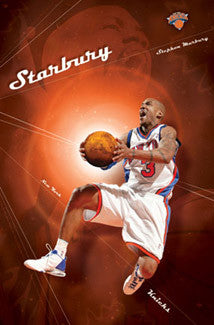 "Stephon Marbury ""Starbury"" New York Knicks Poster - Costacos 2004"