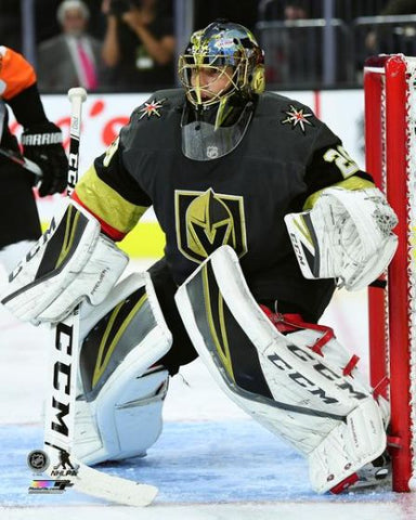 "Marc-Andre Fleury ""Knight Watchman"" Vegas Golden Knights Premium NHL Poster Print - Photofile 16x20"