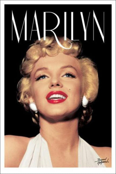 "Marilyn Monroe ""Hollywood Head Shot"" Glamour Star Poster - Pyramid America"