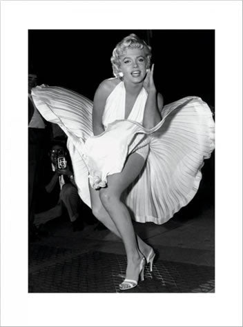 "Marilyn Monroe ""Seven-Year Itch"" (1954) Premium Poster Print - Pyramid Posters"