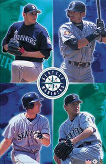 "Seattle Mariners ""Superstars"" - Starline 2001"