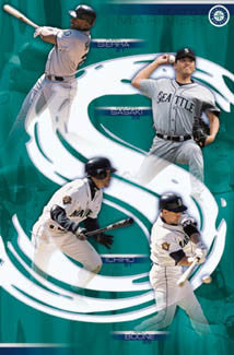 "Seattle Mariners ""Big Four"" - Costacos 2002"