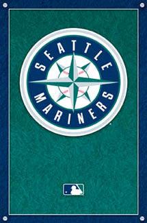 Seattle Mariners Official Logo Poster - Costacos Sports