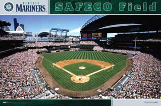 Safeco Field Gameday Seattle Mariners Poster - Costacos Sports