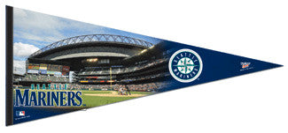 Seattle Mariners Safeco Field Gameday EXTRA-LARGE Premium Felt Pennant
