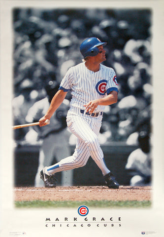 "Mark Grace ""Diamond Classic"" Chicago Cubs Poster - Costacos 1996"